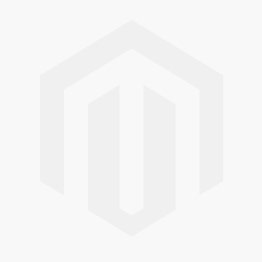 Gold piercing bar with external thread and crystal