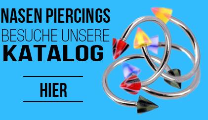 Nasen Piercings